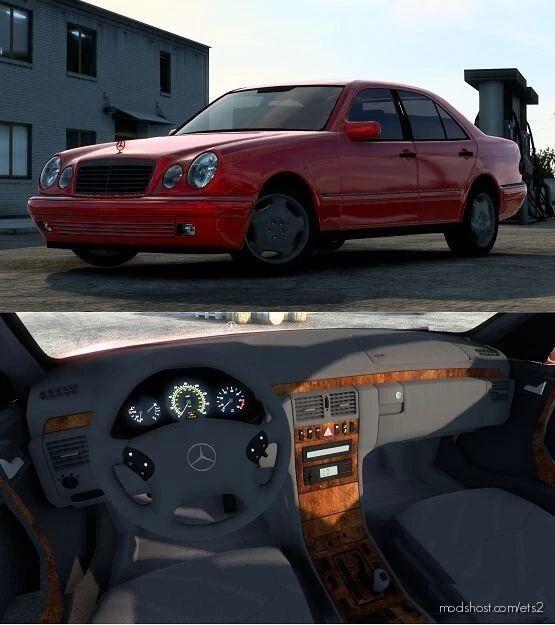 Mercedes-Benz W210 E-Class V2.1 [1.41.X] for Euro Truck Simulator 2