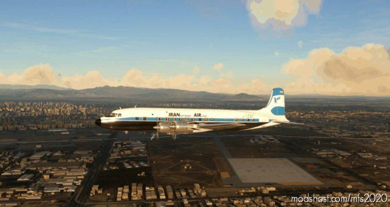 Iran AIR DC6-B for Microsoft Flight Simulator 2020
