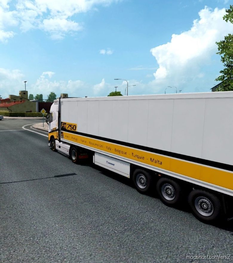Transportes Volvo FH Combo [1.40] for Euro Truck Simulator 2