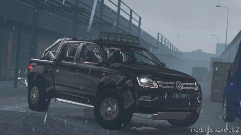 Volkswagen Amarok V1R70 [1.41.X] for Euro Truck Simulator 2