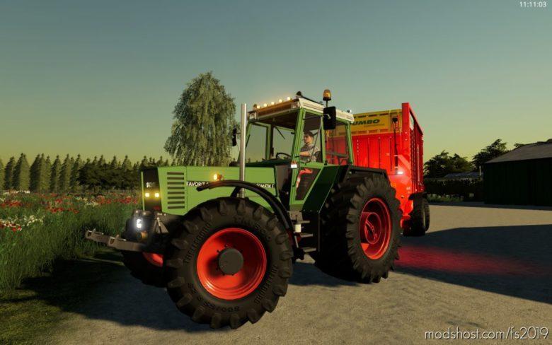 Fendt 600 LSA Edit By Koen_Modding for Farming Simulator 19