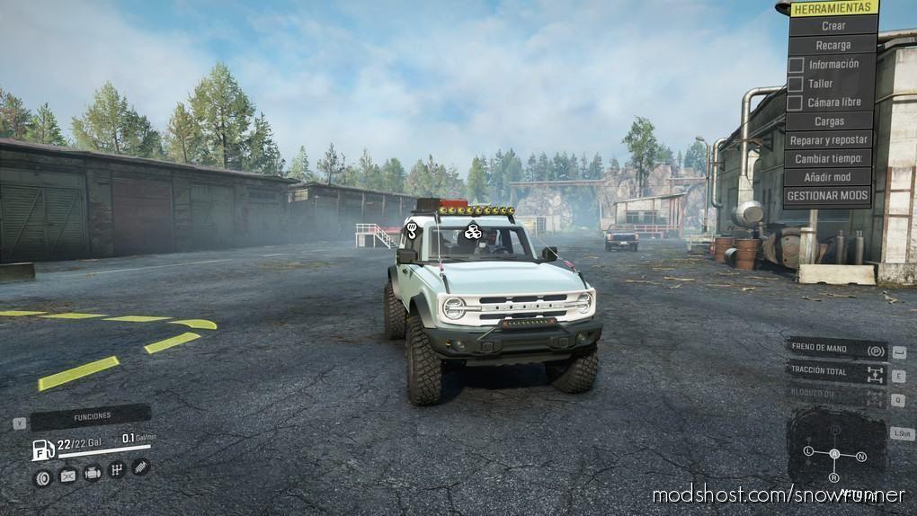 Ford Bronco 2021 Badlands 4Doors for SnowRunner