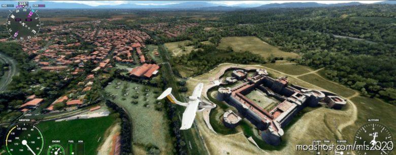 Salses-Le-Château – Occitanie for Microsoft Flight Simulator 2020