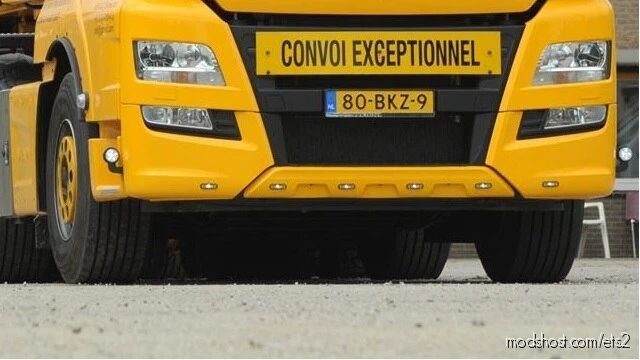 Front Bumper Slots for Euro Truck Simulator 2