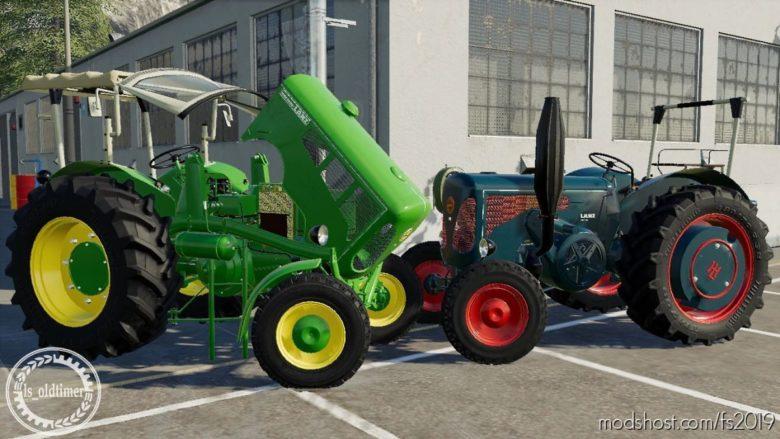 Lanz D4016 for Farming Simulator 19