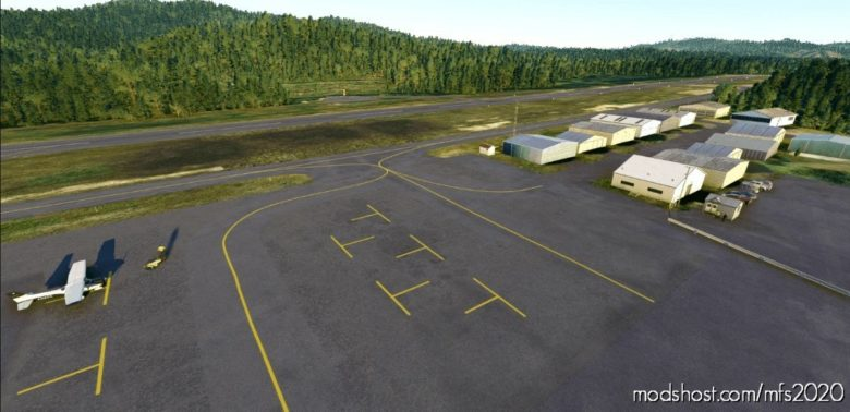 S45 – Siletz BAY State Airport, Oregon Coast, USA for Microsoft Flight Simulator 2020