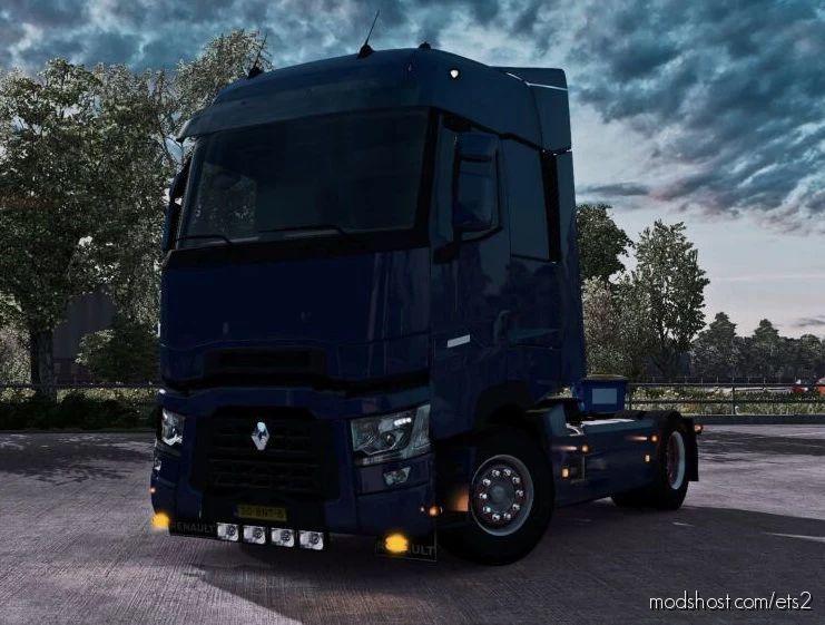 Renault Range T Bottom Slots V1.1 [1.40 – 1.41.X] for Euro Truck Simulator 2