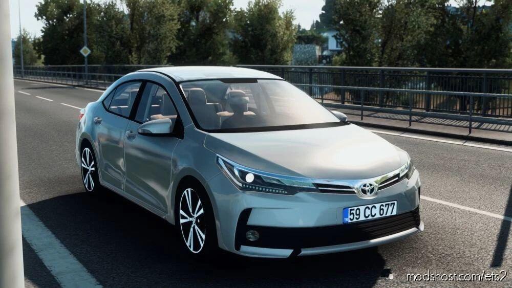 Toyota Corolla 2018 [1.41.X] for Euro Truck Simulator 2