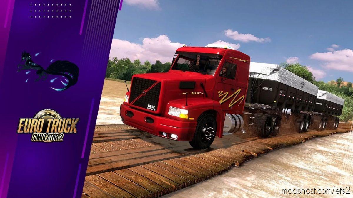 Volvo EDC (Rotas Brasil) [1.41.X] for Euro Truck Simulator 2