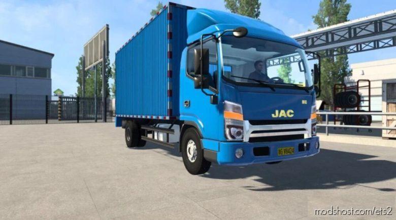 Kumiko Update JAC HFC [1.40 – 1.41.X] for Euro Truck Simulator 2