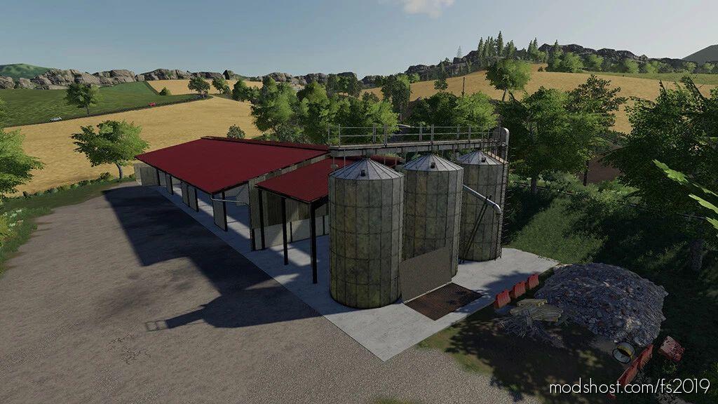 Grain Buildings With Silo for Farming Simulator 19