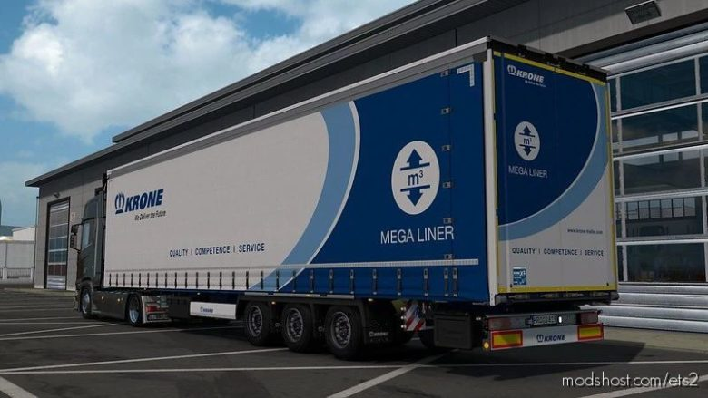 Reworked Krone Profiliner By Sogard3 V1.5 [1.41.X] for Euro Truck Simulator 2