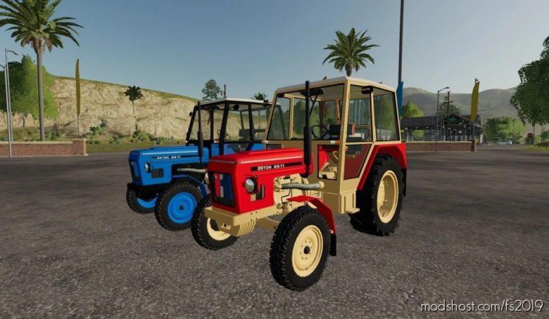 Zetor 6911 Červený A Modrý for Farming Simulator 19