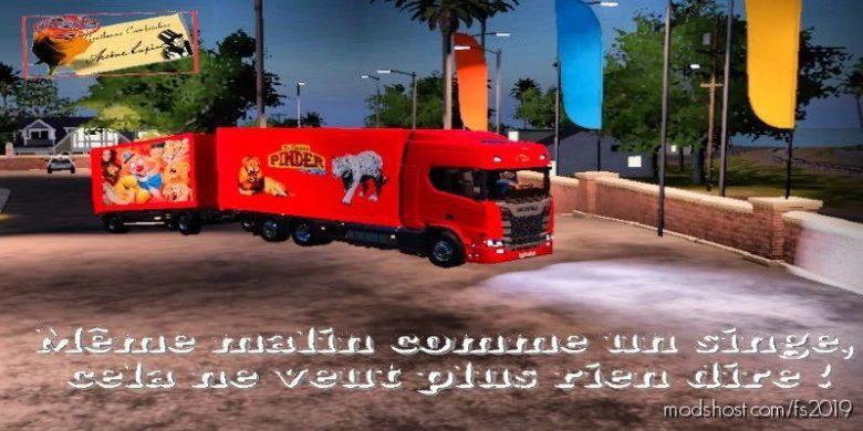Transports DE Fauves Pinder V2.0 for Farming Simulator 19