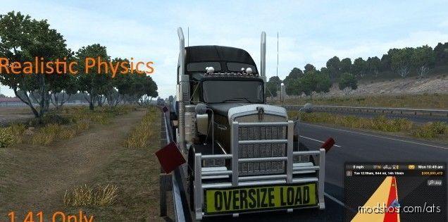 Trainguy's Physics Mod V2.7 [1.41] for American Truck Simulator