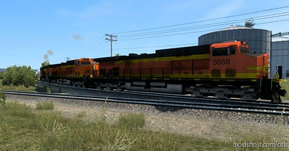 Improved Trains Short Trains Addon V3.8 [1.41]X for American Truck Simulator