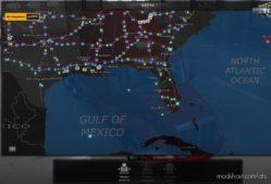 Coast To Coast Map V2.11.15 for American Truck Simulator