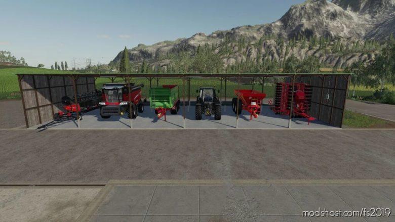 Shed Solar Panels for Farming Simulator 19