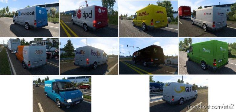 Nissantruck AI Vans Pack V3.0 for Euro Truck Simulator 2