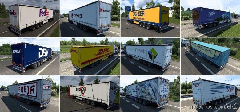 Nissantruck AI Trailers Pack V2.0 for Euro Truck Simulator 2