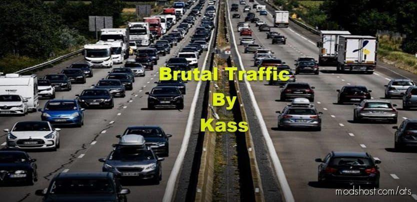 Brutal Traffic – V1.5 [1.41] for American Truck Simulator