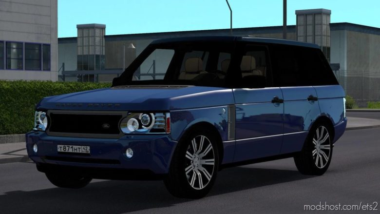 Land Rover Range Rover Supercharged V8 2008 V7.1 [1.41.X] for Euro Truck Simulator 2