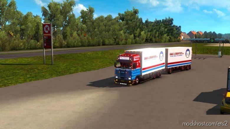 GG Logistics Roth 134M [1.40] for Euro Truck Simulator 2