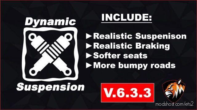 Dynamic Suspension V6 [1.40] for Euro Truck Simulator 2