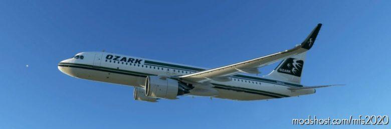 A32NX Ozark Airlines 8K for Microsoft Flight Simulator 2020