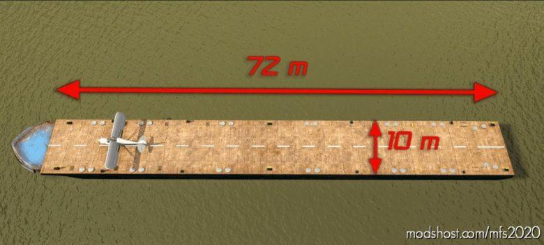 Poland Plock Stol Barge Landing for Microsoft Flight Simulator 2020