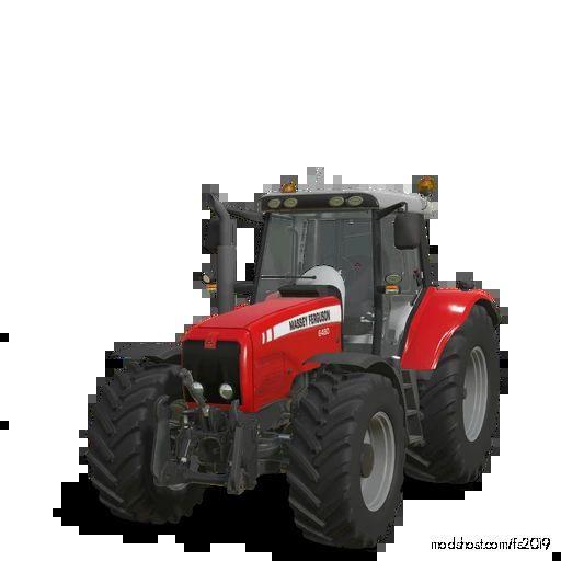 Massey Ferguson 6460-80 Tier 2 V2.0 for Farming Simulator 19