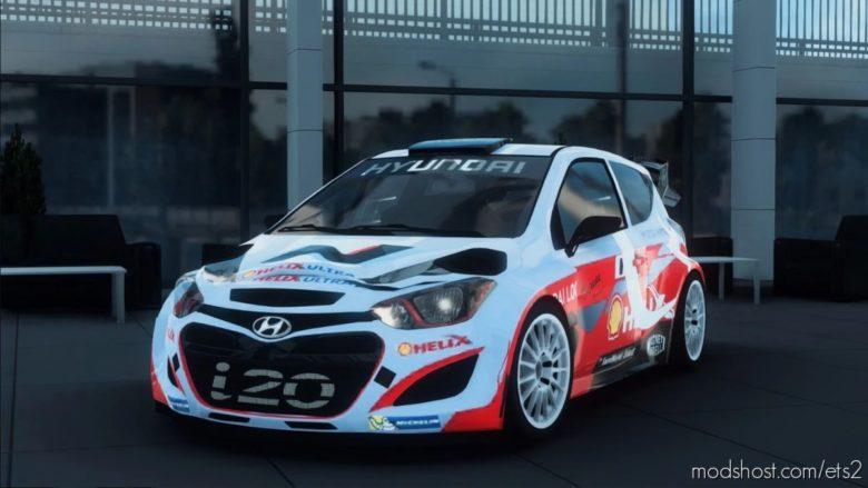 Hyundai I20 WRC V1R70 [1.40 – 1.41] for Euro Truck Simulator 2