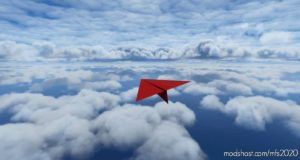 Tapzi – Paper Airplane V1.1 for Microsoft Flight Simulator 2020