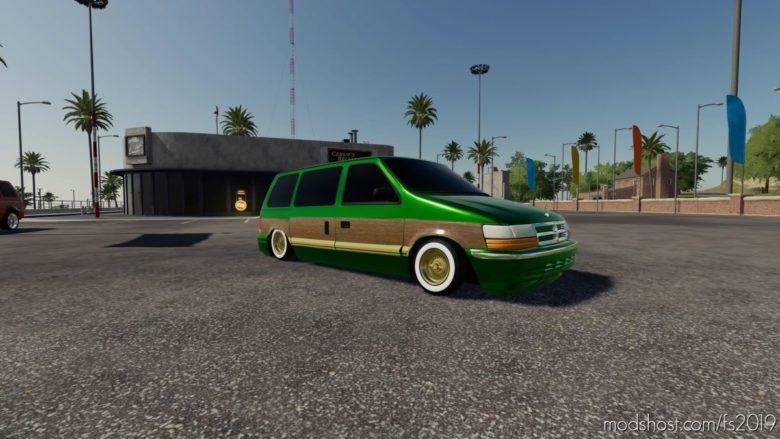 Dodge Caravan 1991 for Farming Simulator 19