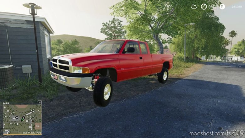 1996 Dodge 3500 for Farming Simulator 19
