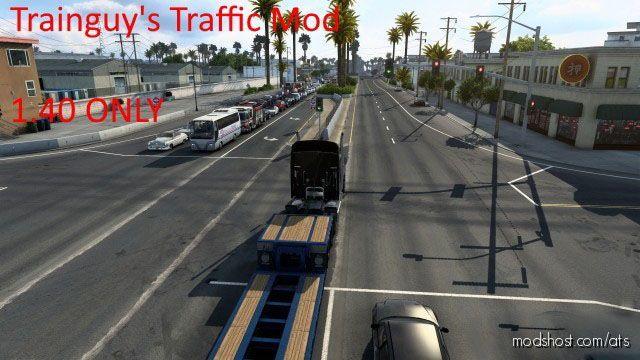 Trainguy's Traffic Mod V2.0 [1.41] for American Truck Simulator