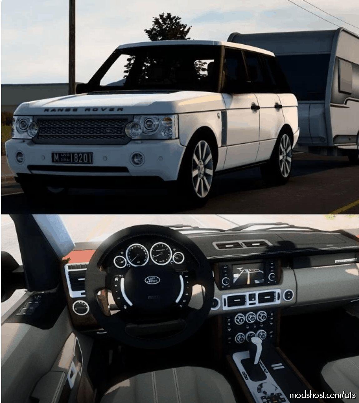 Land Rover Range Rover Supercharged V8 2008 V7.1 for American Truck Simulator