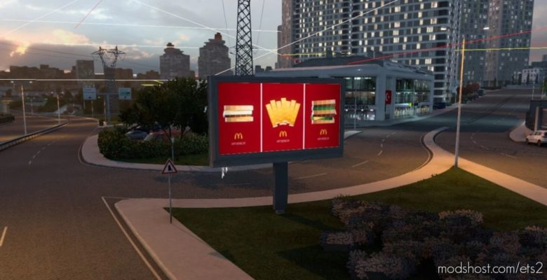 Beautiful Advertisement for Euro Truck Simulator 2