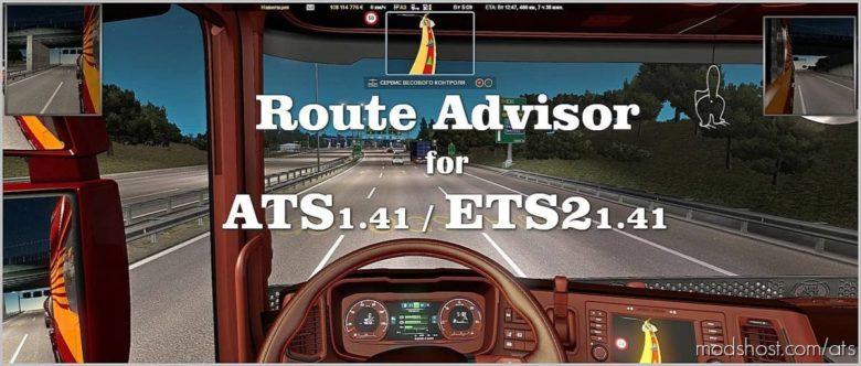 Route Advisor [1.41] for American Truck Simulator
