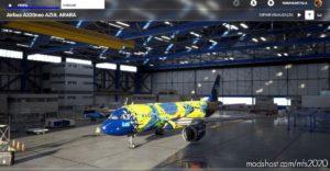 Azul Arara for Microsoft Flight Simulator 2020