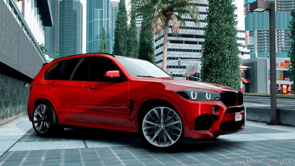 BMW X5M F85 for Grand Theft Auto V
