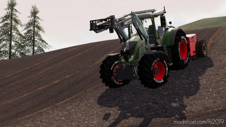 Fendt 700 Series for Farming Simulator 19