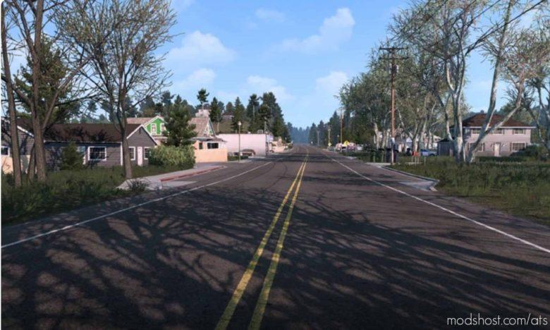 Late Autumn / Mild Winter V3.5 for American Truck Simulator