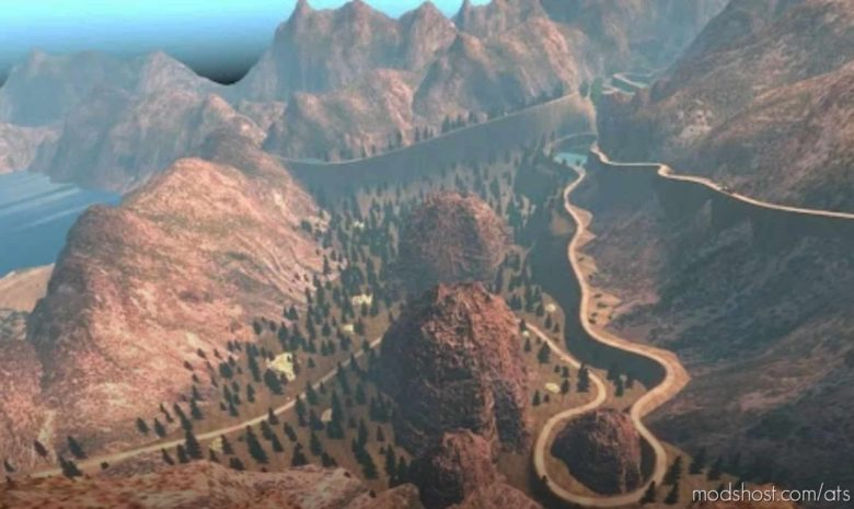 Mountain Roads V1.2.1 for American Truck Simulator