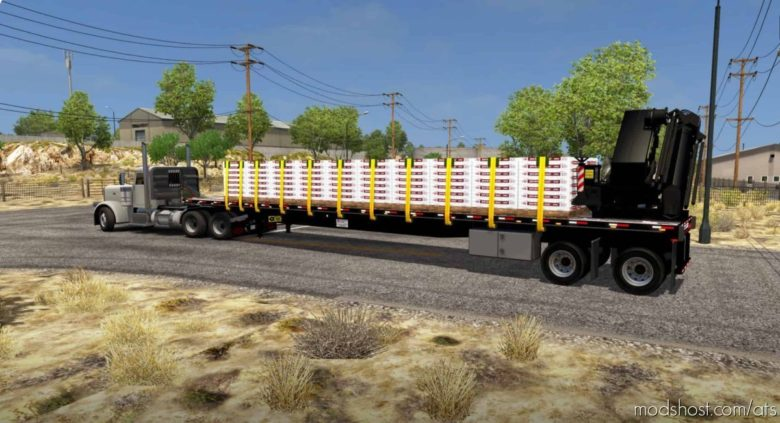 Transcraft TL2000 Flatbed Custom [1.41] for American Truck Simulator