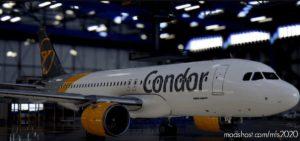 [A32NX] Airbus A320Neo Condor D-Aicp | AS 8K Resolution V1.0.2 for Microsoft Flight Simulator 2020