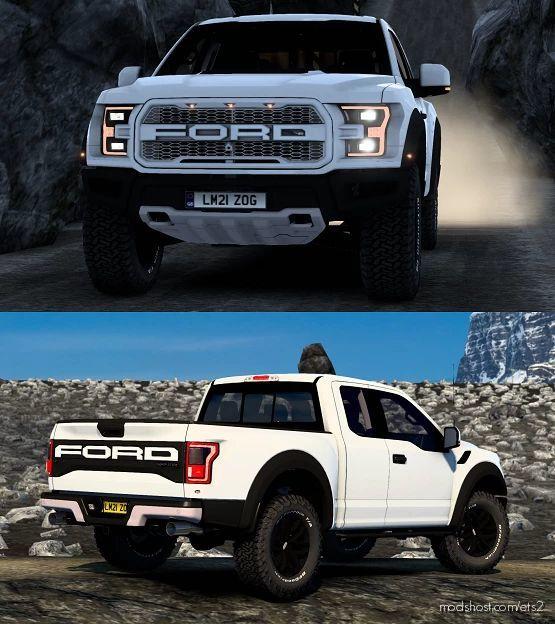 Ford F-150 Raptor 2017 V1.7 [1.41.X] for Euro Truck Simulator 2