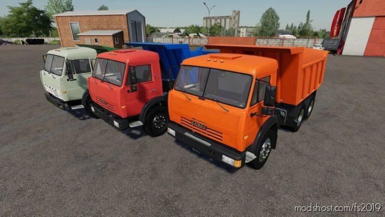 Kamaz Dump Truck for Farming Simulator 19