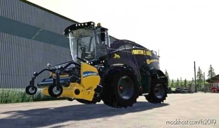 NEW Holland FR 920 Limitededition Martin Zbořil for Farming Simulator 19