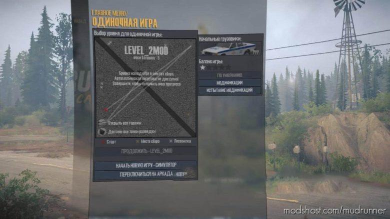 Village Map V2.0 for MudRunner